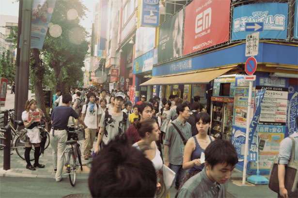Main street at Akihabara