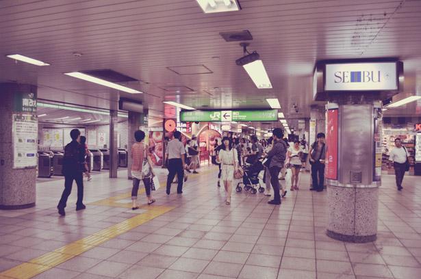 Underground of Ikebukuro Station