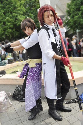 Hakuouki cosplayers