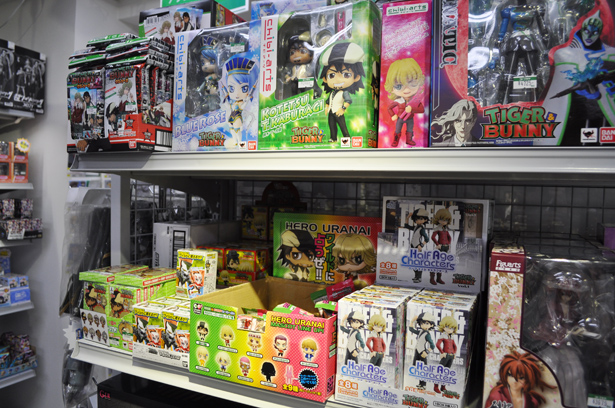Tiger&Bunny section in Kotobukiya