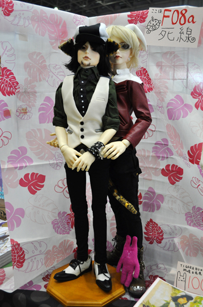 Well-made dolls of Tiger & Bunny