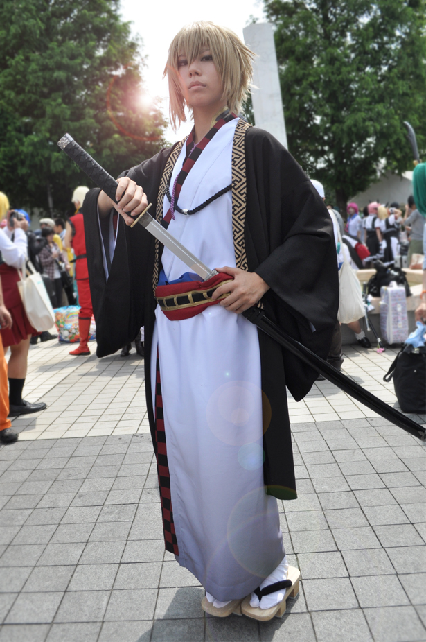 Hakuouki cosplayer