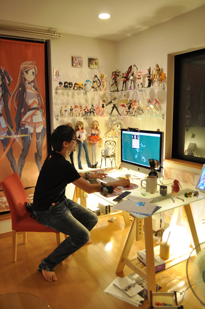Danny Choo in his office