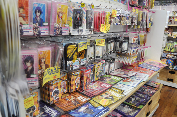 Utapri section in Kotobukiya