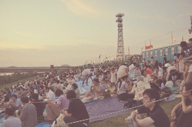 People in Nagaoka Matsuri