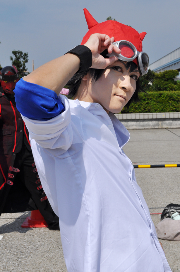 Sket Dance cosplayer at Comiket 82