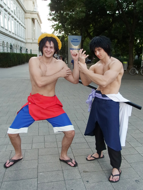 One Piece cosplay in Vienna