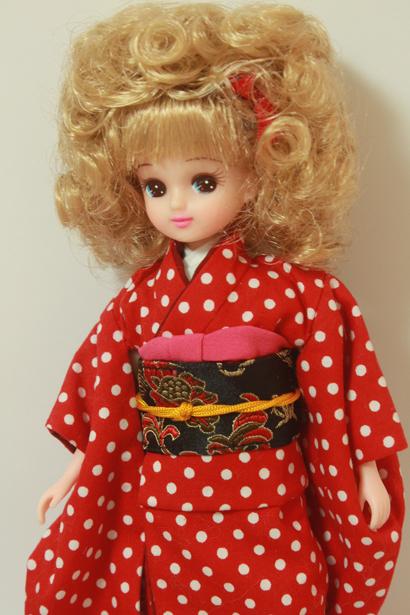 Licca-chan with kimono