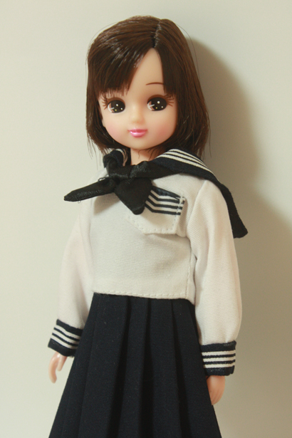 Licca-chan with school uniform