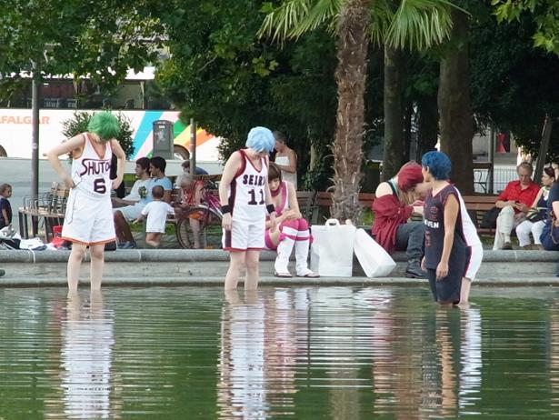 Kuroko's Basketball cosplay in Vienna