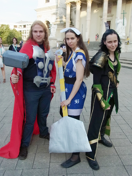 Cosplay in Vienna