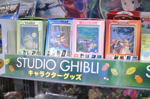 Ghibli goods at Animate Akihabara