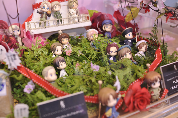 Hetalia mini figures