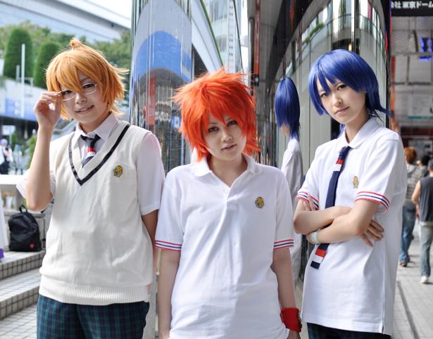 Tokiya and Masato and Natsuki cosplay
