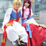 Alibaba and Ren kougyoku cosplay