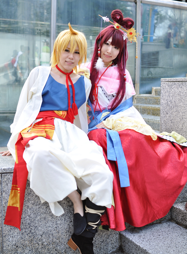 Alibaba and Ren kougyoku cosplay