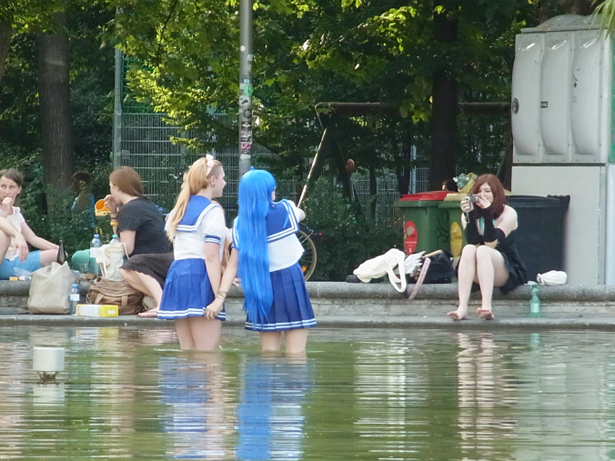 Cosplayers in Vienna