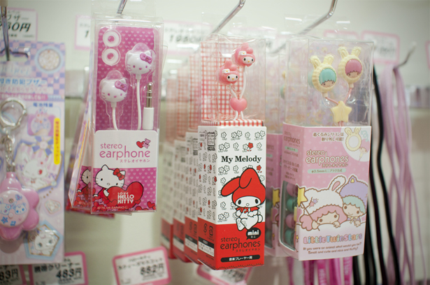 Sanrio earbuds