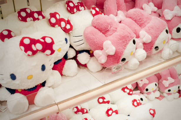 Hello Kitty and My Melody goods