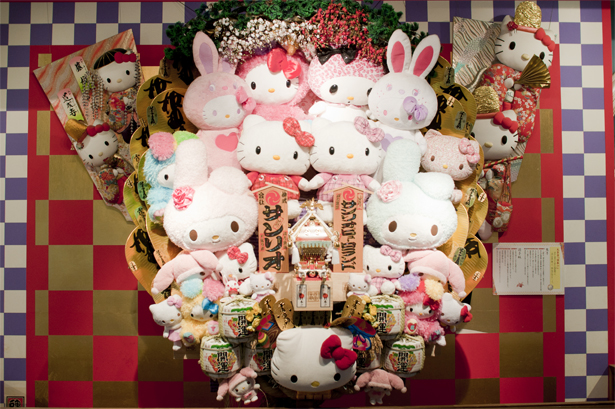 Sanrio characters monument