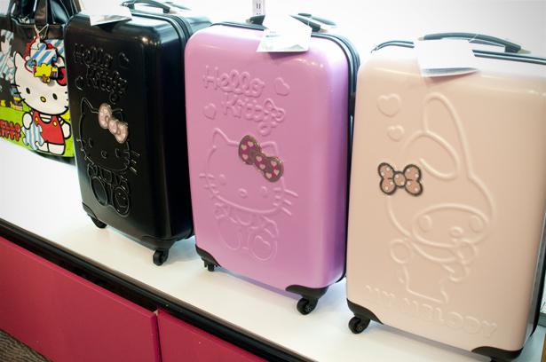 Sanrio suitcases