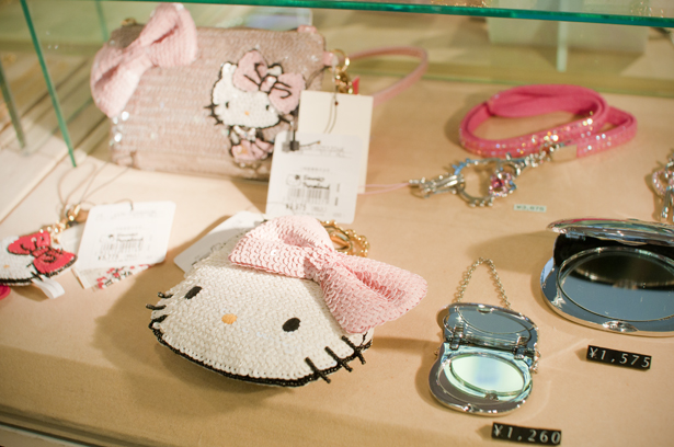 Sanrio goods for young ladies