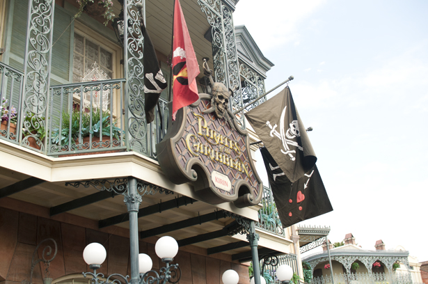 Pirates of the Caribbean in Tokyo Disneyland