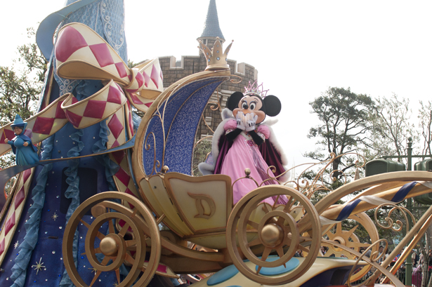 Minnie Mouse in Tokyo Disneyland
