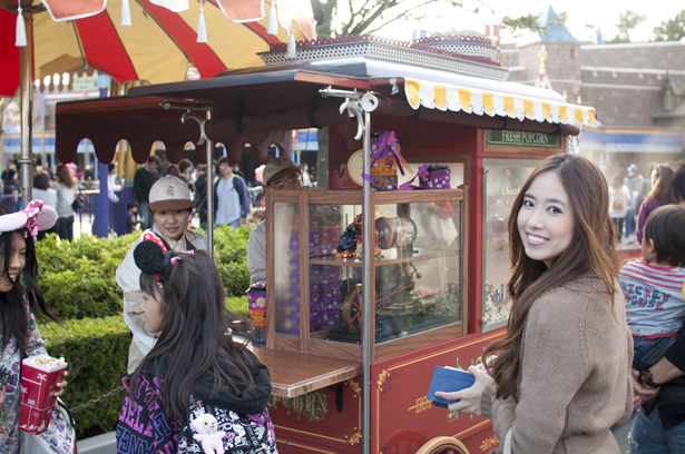 Flavored popcorn shop in Tokyo Disneyland
