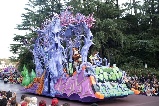 Tokyo Disneyland Halloween parade