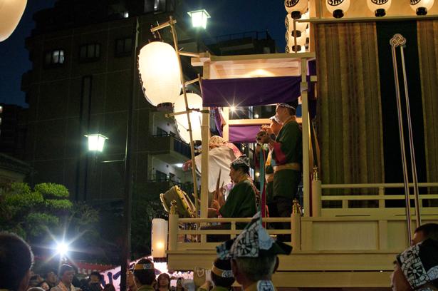 float at Kawagoe Matsuri