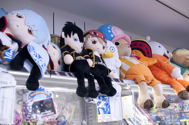 Gintama and ONE PIECE goods