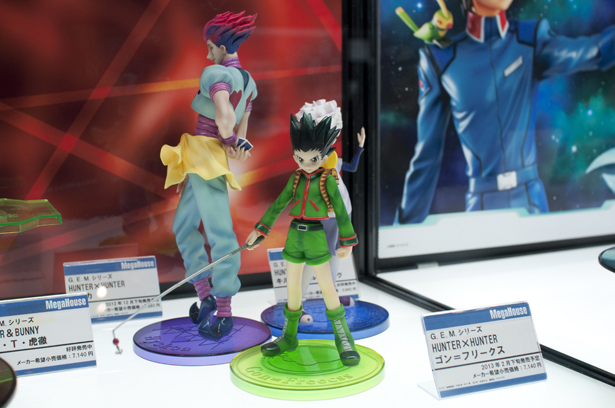 plastic figures at Wonder Festival