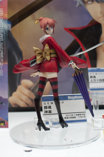 Gintama figures at Wonder Festival