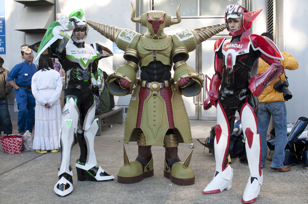 Cosplay at Wonder Festival
