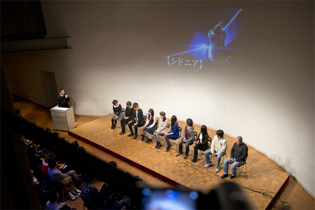 Press conference of new anime Knights of Sidonia